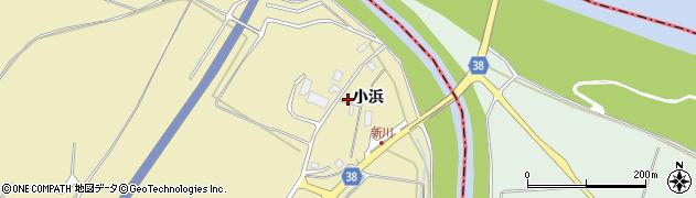 山形県酒田市浜中小浜71周辺の地図