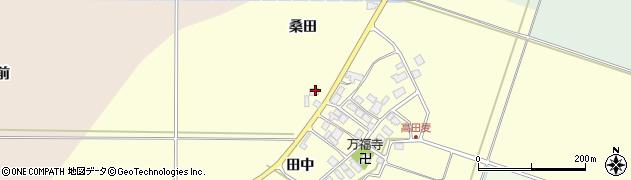 山形県東田川郡庄内町高田麦田中18周辺の地図