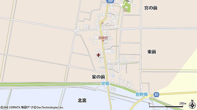 山形県東田川郡庄内町宮曽根宮の前16周辺の地図