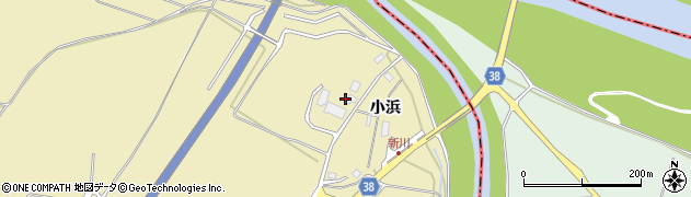 山形県酒田市浜中小浜78周辺の地図