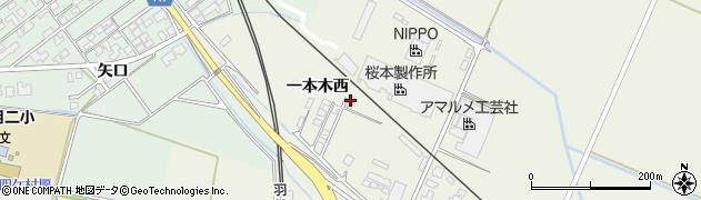山形県東田川郡庄内町常万一本木西38周辺の地図