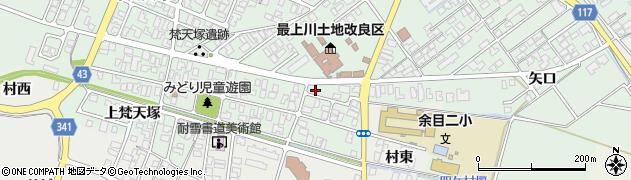 山形県東田川郡庄内町余目梵天塚7周辺の地図