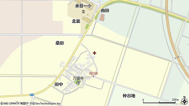 山形県東田川郡庄内町高田麦田中1周辺の地図