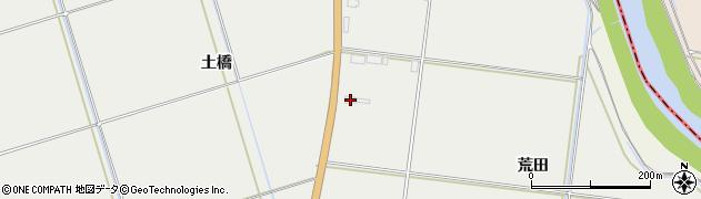 山形県酒田市広野荒田78周辺の地図