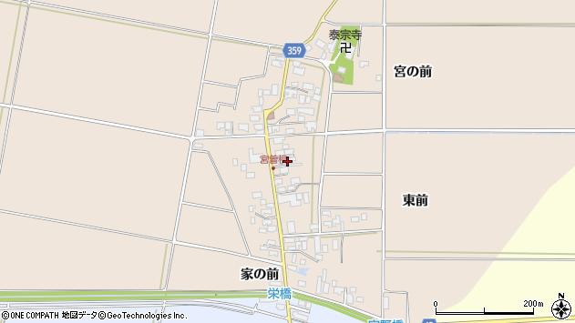 山形県東田川郡庄内町宮曽根宮の前38周辺の地図