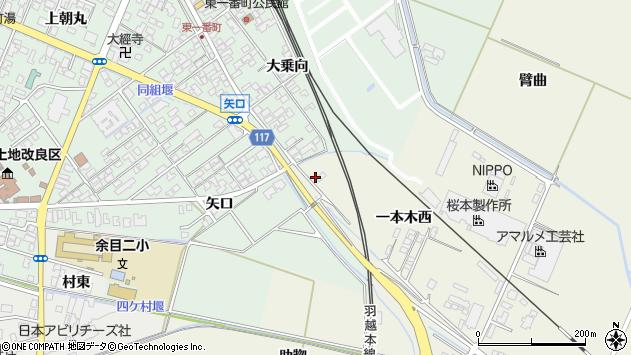 山形県東田川郡庄内町常万一本木西49周辺の地図