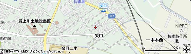 山形県東田川郡庄内町余目矢口81周辺の地図