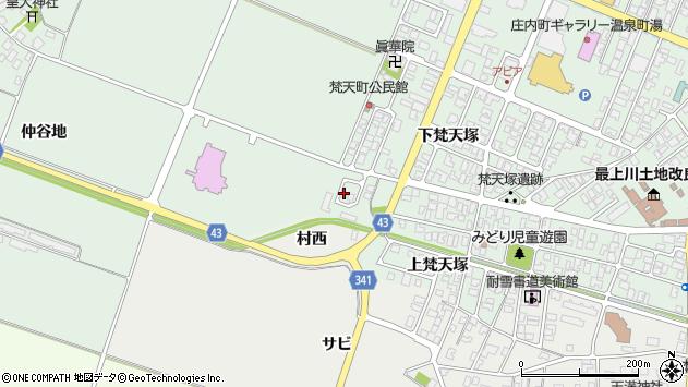山形県東田川郡庄内町余目仲谷地29周辺の地図