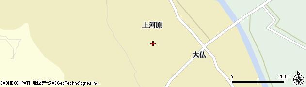 宮城県栗原市栗駒中野新上河原周辺の地図