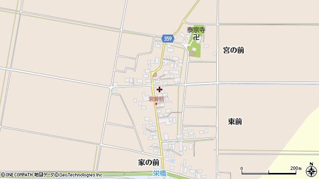 山形県東田川郡庄内町宮曽根宮の前40周辺の地図