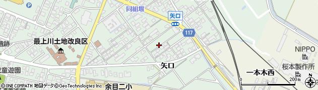 山形県東田川郡庄内町余目矢口80周辺の地図