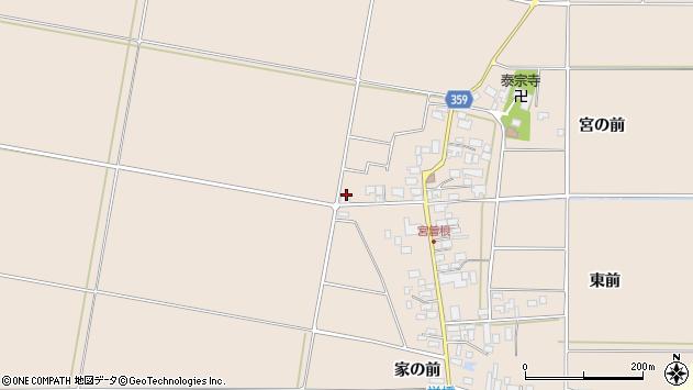 山形県東田川郡庄内町宮曽根宮の前181周辺の地図
