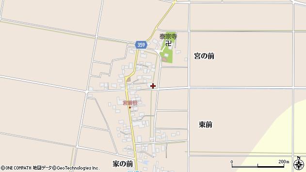 山形県東田川郡庄内町宮曽根宮の前41周辺の地図