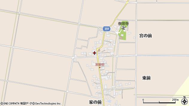 山形県東田川郡庄内町宮曽根宮の前44周辺の地図