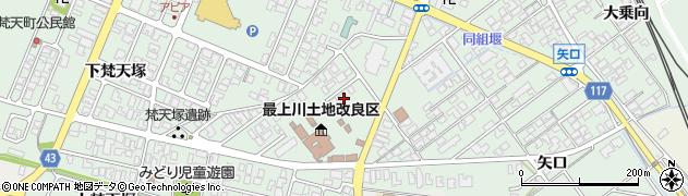 山形県東田川郡庄内町余目上梵天塚10周辺の地図