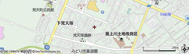 山形県東田川郡庄内町余目上朝丸88周辺の地図