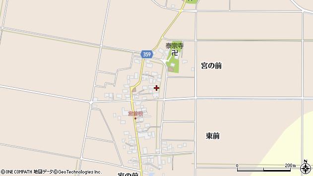 山形県東田川郡庄内町宮曽根宮の前53周辺の地図
