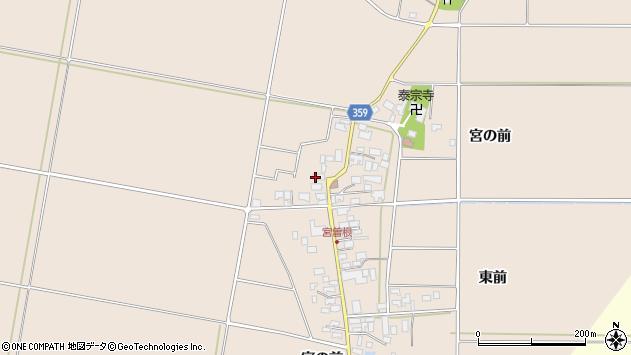 山形県東田川郡庄内町宮曽根宮の前51周辺の地図