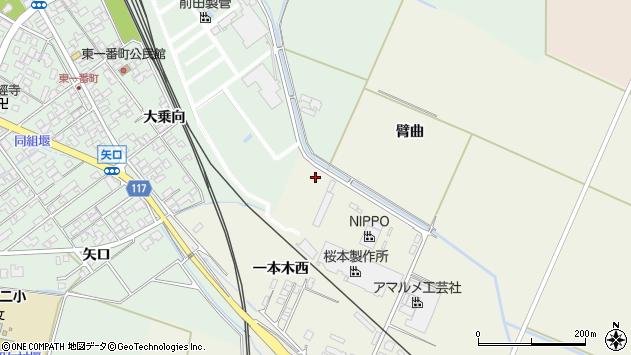 山形県東田川郡庄内町常万一本木西68周辺の地図