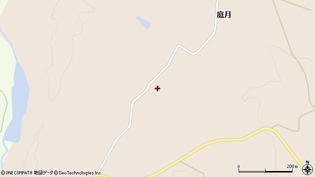 山形県最上郡鮭川村庭月2330周辺の地図