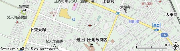 山形県東田川郡庄内町余目上朝丸82周辺の地図