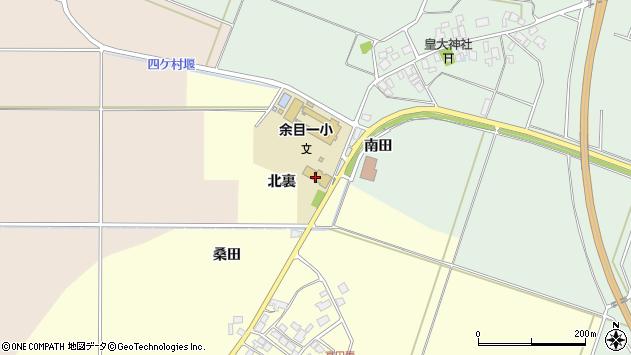山形県東田川郡庄内町高田麦北裏周辺の地図