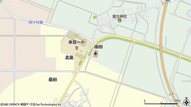 山形県東田川郡庄内町余目南田94周辺の地図