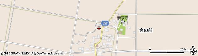 山形県東田川郡庄内町宮曽根宮の前68周辺の地図