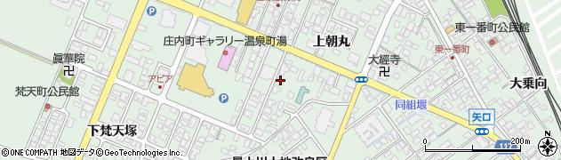 山形県東田川郡庄内町余目上朝丸79周辺の地図