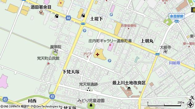 山形県東田川郡庄内町余目土堤下50周辺の地図