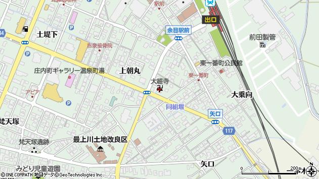 山形県東田川郡庄内町余目上朝丸27周辺の地図