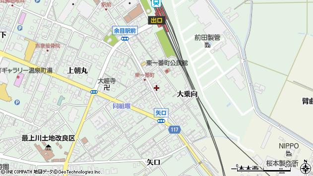 山形県東田川郡庄内町余目大乗向64周辺の地図
