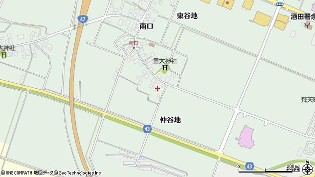 山形県東田川郡庄内町余目南口10周辺の地図