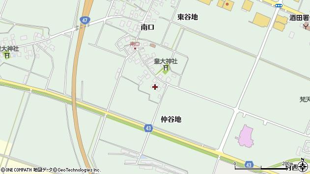 山形県東田川郡庄内町余目南口12周辺の地図