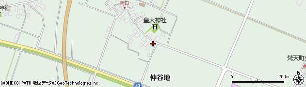 山形県東田川郡庄内町余目南口5周辺の地図