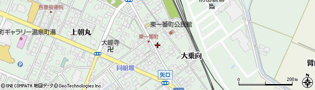 山形県東田川郡庄内町余目大乗向63周辺の地図