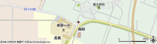 山形県東田川郡庄内町余目南田9周辺の地図