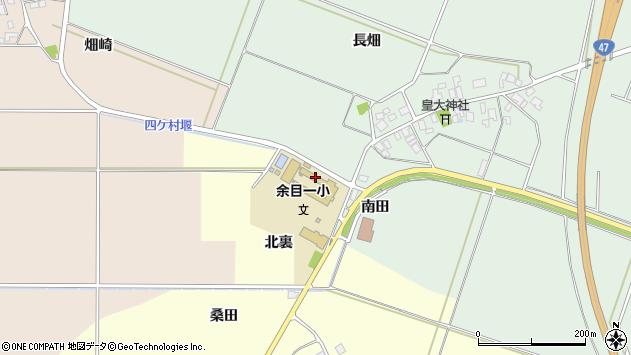 山形県東田川郡庄内町余目南田105周辺の地図
