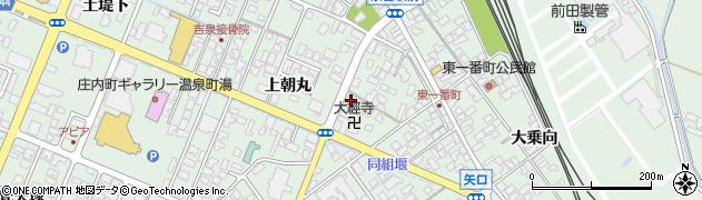 山形県東田川郡庄内町余目上朝丸62周辺の地図