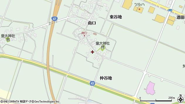 山形県東田川郡庄内町余目南口22周辺の地図