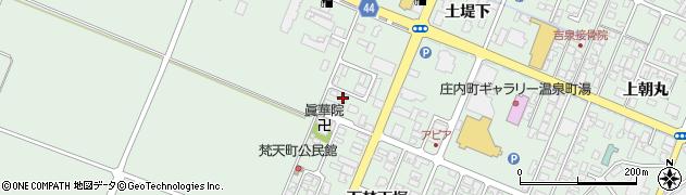 山形県東田川郡庄内町余目土堤下41周辺の地図