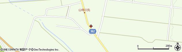 山形県酒田市山寺宅地3周辺の地図