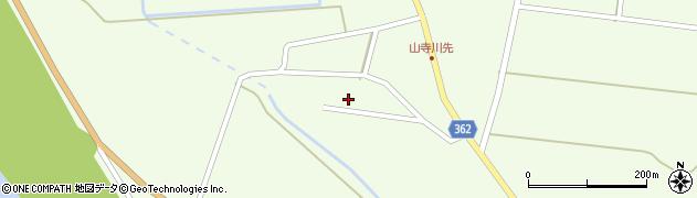 山形県酒田市山寺小出池ノ尻1周辺の地図