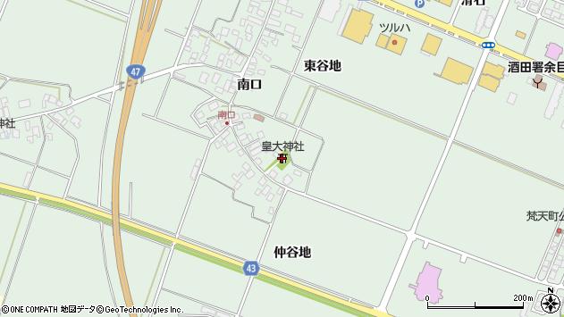 山形県東田川郡庄内町余目南口16周辺の地図
