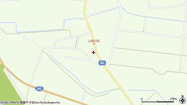 山形県酒田市山寺宅地29周辺の地図