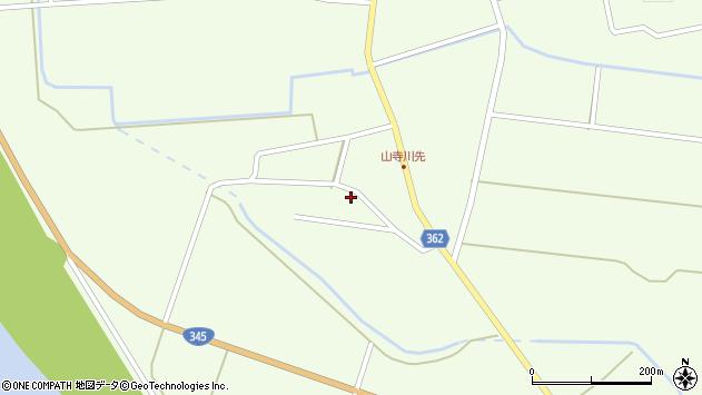 山形県酒田市山寺宅地20周辺の地図