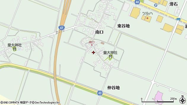 山形県東田川郡庄内町余目南口28周辺の地図