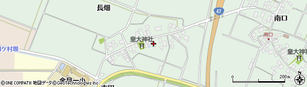 山形県東田川郡庄内町余目長畑15周辺の地図