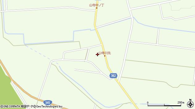 山形県酒田市山寺宅地42周辺の地図