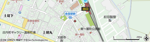 山形県東田川郡庄内町余目沢田126周辺の地図